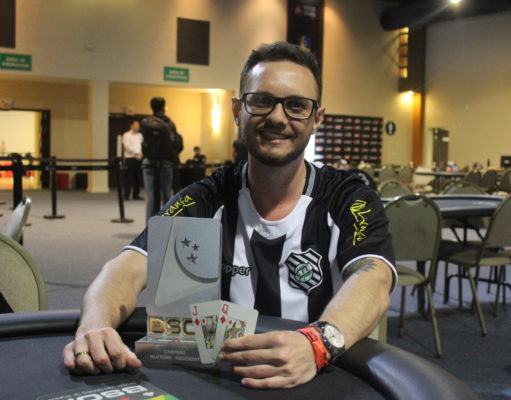 Fellipe Drapichinski campeão do Turbo Knockout do BSOP Floripa