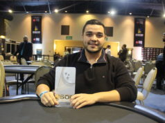 Pablo Almeida campeão do PL Omaha Dealers Choice do BSOP Floripa