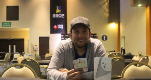 Pablo da Silva campeão do Turbo Knockout do BSOP Floripa