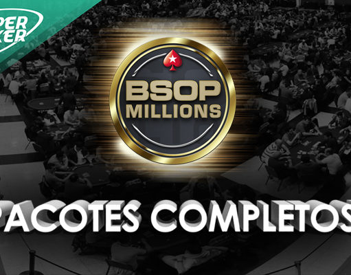 Pacotes completos para o BSOP Millions