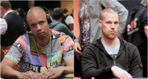 Patrik Antonius e Phil Ivey