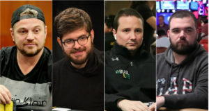 Rodrigo Garrido, Thiago Crema, Bruno Foster e Pedro Padilha