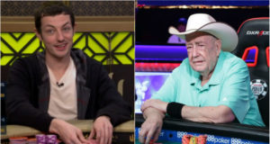 Tom Dwan e Doyle Bruson