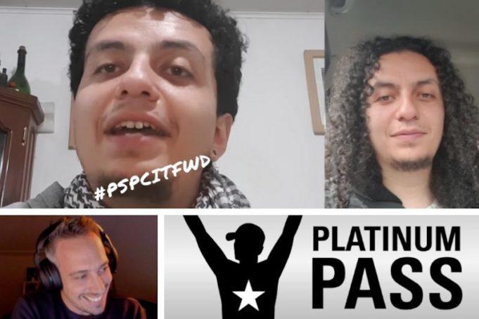 Benjamin Alvarado faturou um Platinum Pass
