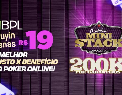 Outubro Mini Stack - Brasil Poker Live