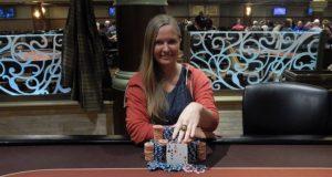 Heather Alcorn - Campeã Main Event WSOP Circuit Horseshoe Indiana