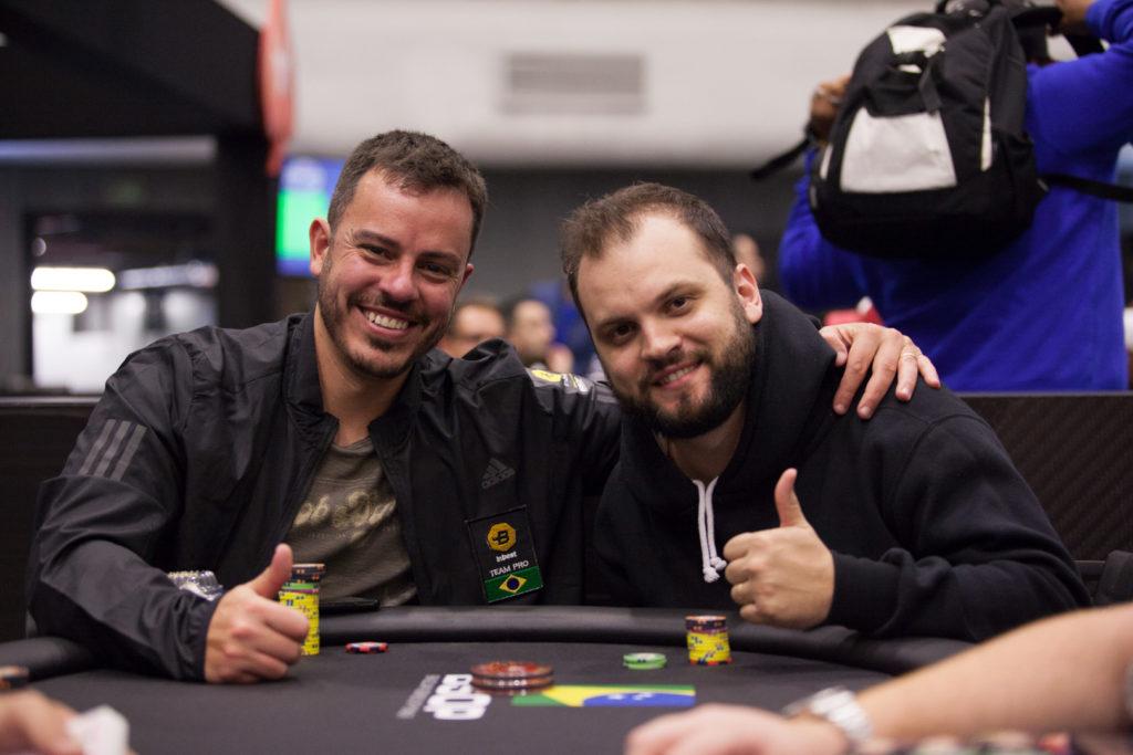 Paulo Gini e Saulo Sabino no BSOP Millions