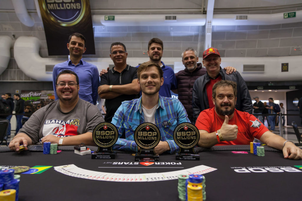 Mesa final do 1-Day High Roller do BSOP Millions