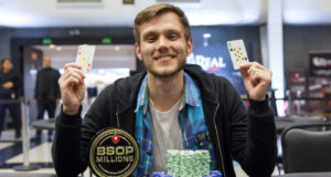 Alisson Piekazewicz campeão do 1-Day High Roller do BSOP Millions
