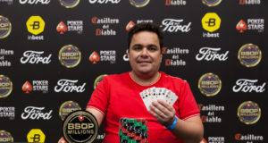José Gaudêncio campeão do HORSE do BSOP Millions