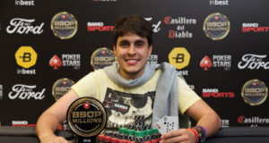 Guilherme Carmo campeão do Start-Up do BSOP Millions