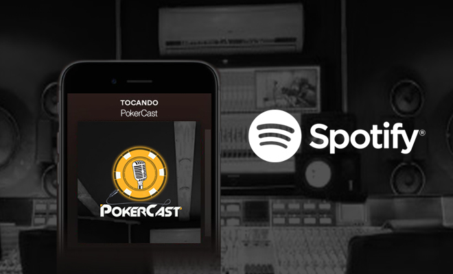 Pokercast agora no Spotify