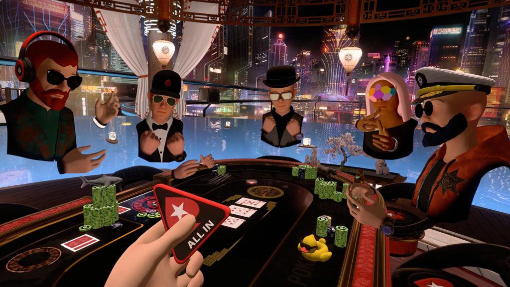 PokerStars VR no cenário Macau 2050
