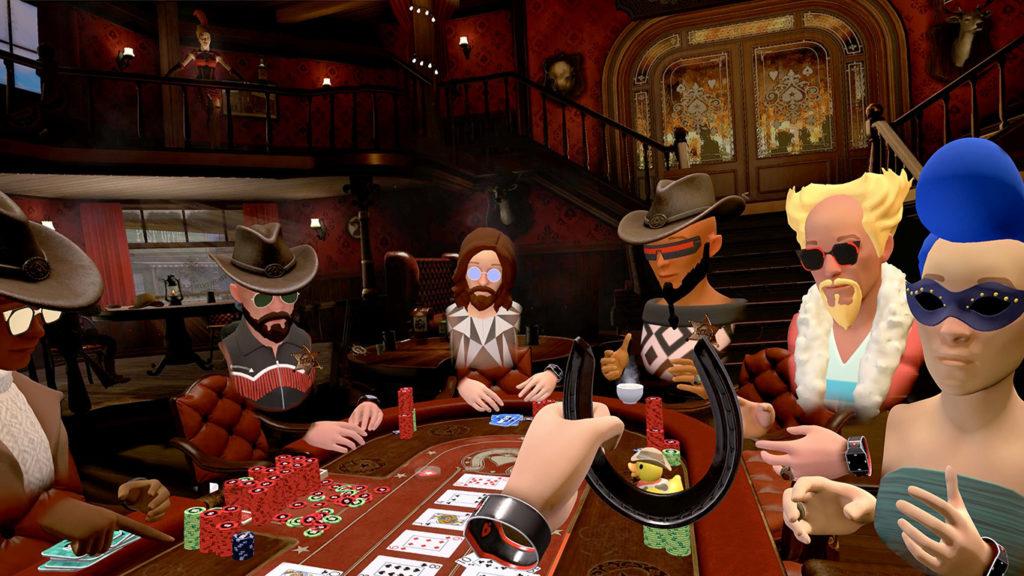 PokerStars VR no cenário The Showdown Saloon