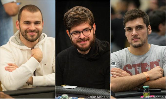 Renan Bruschi, Thiago Crema e Thiago Grigoletti