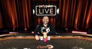 Roberto Romanello campeão do High Roller do Caribbean Poker Party