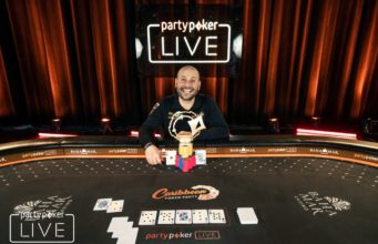 Roberto Romanello campeão do High Roller do Caribbean Poker Party