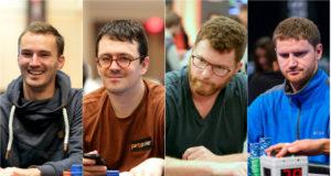 Steffen Sontheimer, Isaac Haxton, Nick Petrangelo e David Peters