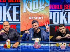 Tamir Segal, Asi Moshe e Timur Margolin campeões na WSOP Europa