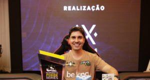 Guilherme Chenaud campeão do High Roller Single Day do NPS Recife