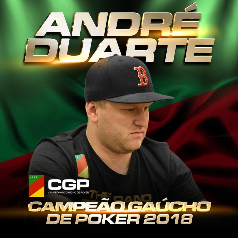 André Duarte - Campeão Gaúcho de Poker 2018