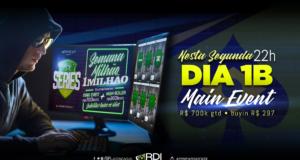 Dia 1B Semana do Milhão - Brasil Poker Live