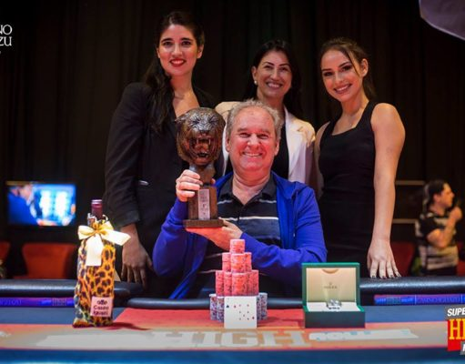 Clóvis Balotin - Campeão Super High Roller Casino Iguazu