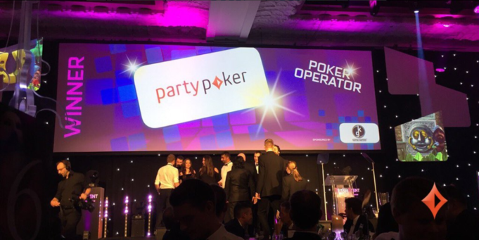 partypoker Operador de Poker do Ano no EGR Operator Awards