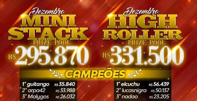 Festa de Natal do Brasil Poker Live