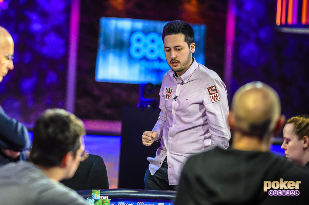 Adrian Mateos - Super High Roller Bowl (Foto: PokerCentral)
