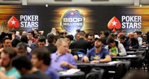 Salão do BSOP Millions 2018