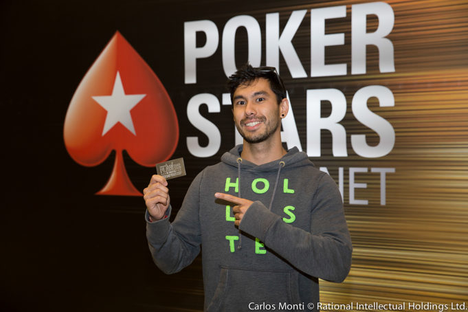 Neville Mateus campeão do Mega Freeroll do BSOP Millions
