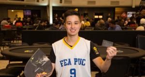 Arthur Jun - Campeão University Series - BSOP Millions