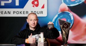 Boris Mondrus campeão do National do EPT Praga