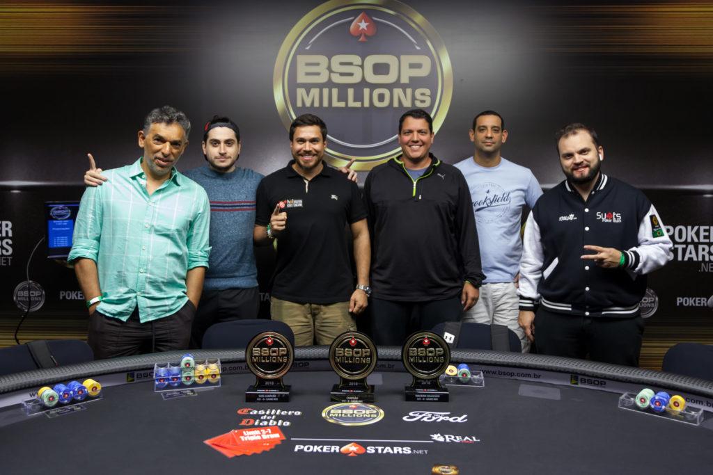 Mesa final do 8-Game do BSOP Millions