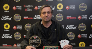 Celso Sirtoli campeão do Rivers do BSOP Millions