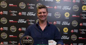 Éder Ferronato é campeão do Pot-Limit Omaha do BSOP Millions