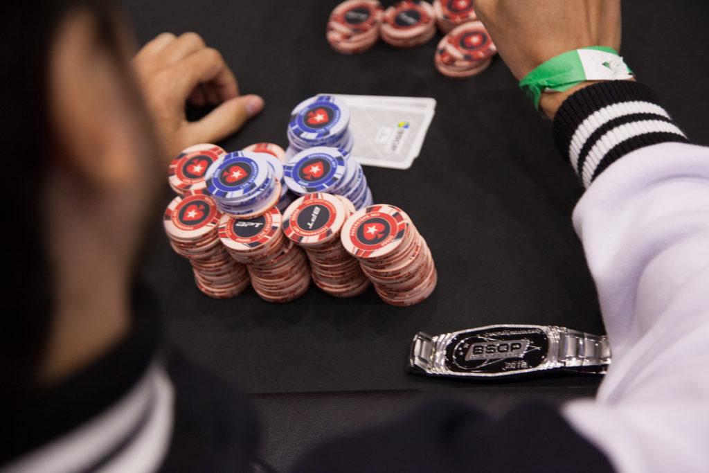 Bracelete de campeão brasileiro de poker