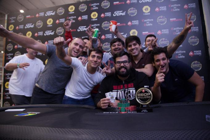 Eduardo Lobo - Campeão NLH 100K GTD - BSOP Millions