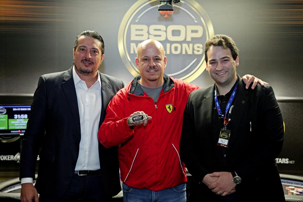 "Igor Federal, José Carlos ""Belém"" e Devanir Campos - BSOP Millions"