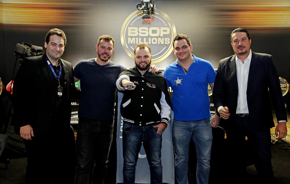 Devanir Campos, Paulo Gini, Saulo Sabioni, Caio Hey, Igor Federal - Ranking BSOP Millions 2018
