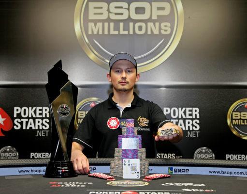 Leocir Carneiro - Campeão Main Event BSOP Millions