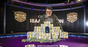 Isaac Haxton campeão do Super High Roller Bowl V (Foto: PokerCentral)