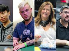 Norson Saho, Anthony Barranqueiros, Beth Rodrigues e Fernando Grow