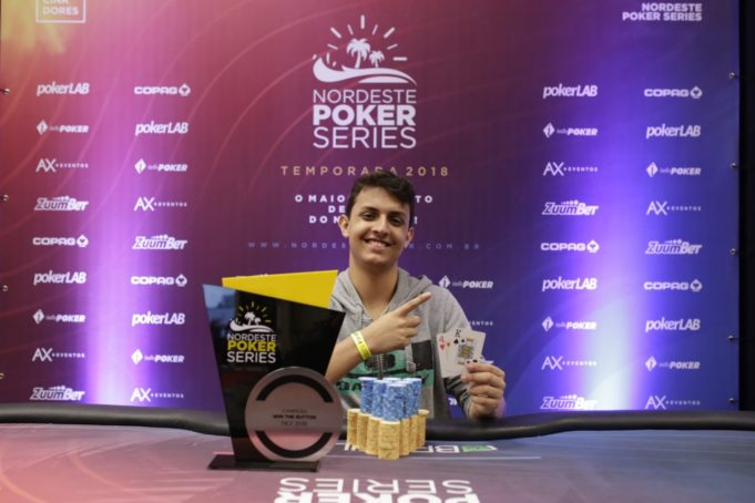 Gabriel Nobrega campeão do Win The Button do NPS Grand Final
