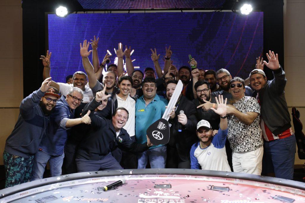 Alen Fillipi é campeão do ranking do Nordeste Poker Series