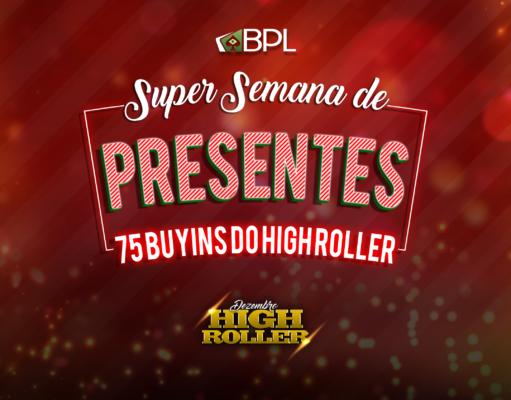 Especial de Natal no Brasil Poker Live