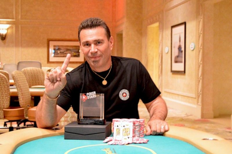 Damon Ferrante em uma vitória no Borgata Casino