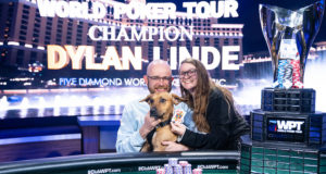 Dylan Linde, Alyssa e River - Campeão WPT Five Diamond