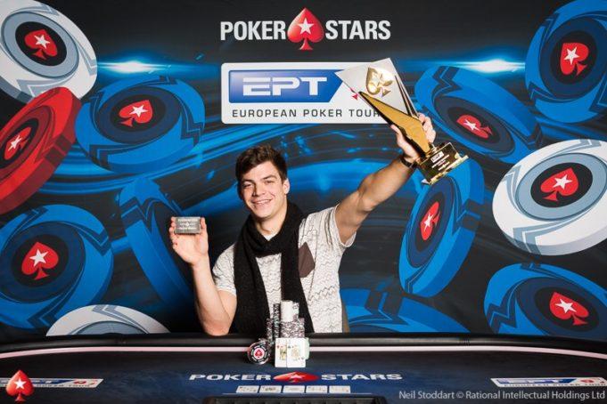 Paul Michaelis - Campeão EPT Praga
